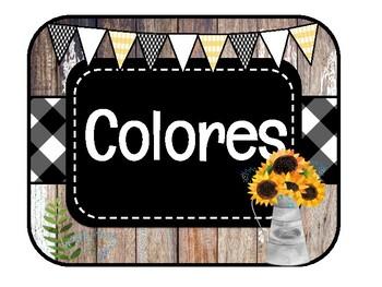 SPANISH FARMHOUSE / Los Colores y Figuras