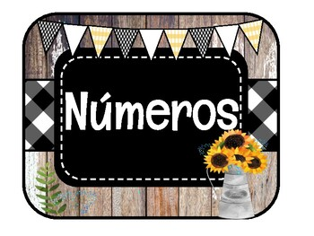 SPANISH FARMHOUSE / Números 1-20