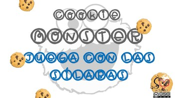 SPANISH FOOD VOCABULARY GAME WITH COOKIE MONSTER