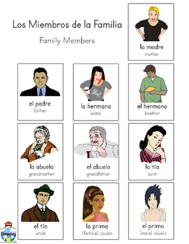 SPANISH: Family and Activities