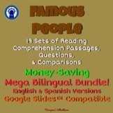 Famous People Readings & More Mega Bilingual Bundle for Go