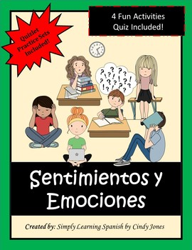"SPANISH ""Feelings and Emotions"" Mini-Lesson"