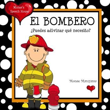 SPANISH Fireman book ELL/ESL
