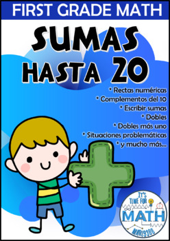 SPANISH: First Grade Math - ADDITION TO 20