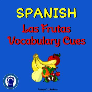 SPANISH Fruits Vocabulary Cues