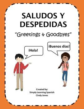 "SPANISH ""Greetings & Goodbyes"""