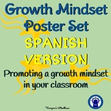 SPANISH Growth Mindset Poster Set