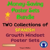 SPANISH Growth Mindset Poster Sets Bundle