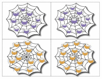 SPANISH HALLOWEEN NUMBER CARDS 1-20