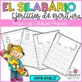 SPANISH HANDWRITING/ EL SILABARIO/ PLANAS DE ESCRITURA