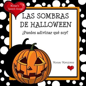 SPANISH Halloween Shadow Book