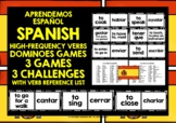 SPANISH VERBS (1) - PRACTICE & REVISION - 3 DIFFERENTIATED