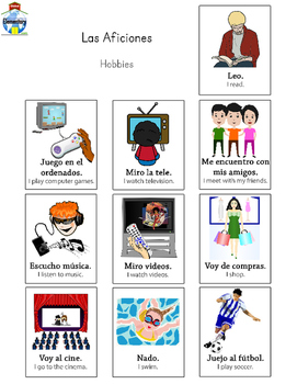 SPANISH: Hobbies and Pastimes