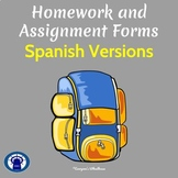 SPANISH Homework and Assignment Forms