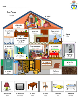 SPANISH: Houses and Homes