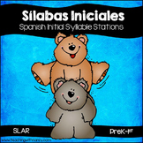 SPANISH:  Initial Syllable Learning Stations