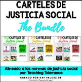 SPANISH K-8 Carteles de Justicia Social-Social Justice Pos