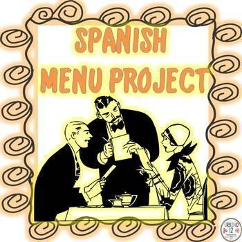SPANISH  MENU PROJECT