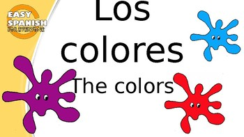 SPANISH: LOS COLORES/THE COLORS  (POWER POINT)