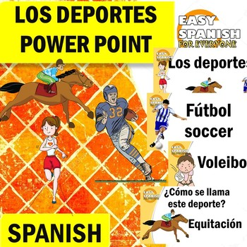 SPANISH: LOS DEPORTES (Power Point)