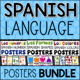 SPANISH Posters Bundle - Shapes Colors Numbers