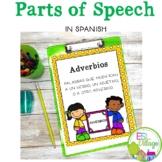 Spanish Parts of Speech Bundle
