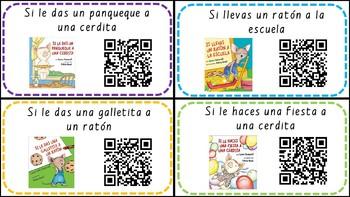 SPANISH Laura Numeroff QR