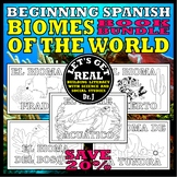 SPANISH: Los Biomas (Biomes) Book Bundle