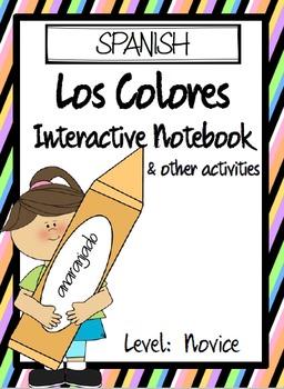 SPANISH - Los Colores Interactive Notebook & More