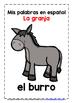 SPANISH FARM ANIMALS - 21 POSTERS / PRACTICE