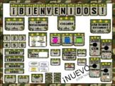 SPANISH MILITARY CLASSROOM DECOR - Decoraciones para salón de clase Militar