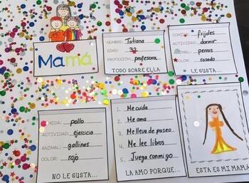 SPANISH MOTHERS DAY FLIP BOOK/ DIA DE LAS MADRES LIBRITO INTERACTIVO