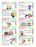 SPANISH Minion Reward Tickets