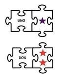 SPANISH NUMBER COUNTING 1 - 20 ESPANOL NUMEROS, AUTISM AUTISMO