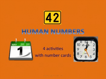 SPANISH NUMBERS (human números, telling dates & time in Spanish)