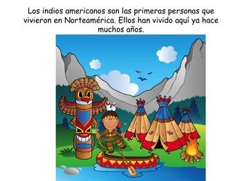 SPANISH Native American Indians:  ESL/ELL