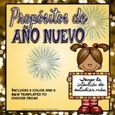SPANISH- New Year Resolutions 2019/Propósitos de Año Nuevo 2019