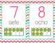 SPANISH Number Posters 0-20 - Ten Frames - Country Cool Te