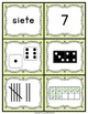 SPANISH Number Sense - Subitizing and Multiple Representations