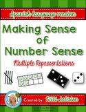 SPANISH Number Sense - Subitizing and Multiple Representations