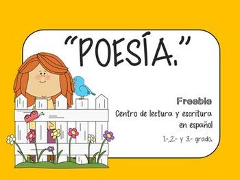 SPANISH POETRY FREEBIE