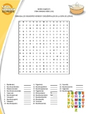 SPANISH PRESENT TENSE (6 WORD SEARCH)