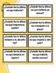 SPANISH: PRETERITE TENSE (Flash cards-questions)