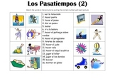 SPANISH - Picture Match - Los Pasatiempos 2 (Hobbies)