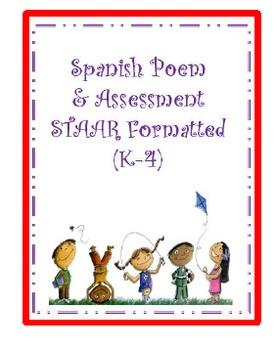 SPANISH Poem-POEMA en Español/Bailando la ronda (K-4)