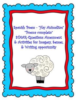 "SPANISH Poem-""Hay Animalitos"""