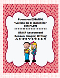 """SPANISH Poem """"La luna en el jazminero"""" COMPLETE Product with activities"""