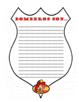 """SPANISH Poem """"Los Bomberos""""-Complete STAAR Test, Imagery & Writing Activities"""