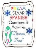 """SPANISH Poem-""""Tienes Frio"""" STAAR Assessment Questions & Activities"""
