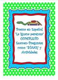 """SPANISH Poema-""""La Iguana Perezosa"""""""